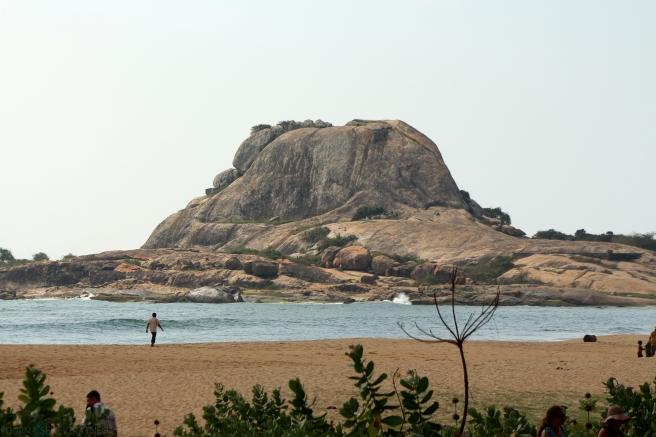 The view of the sea at Kirinda