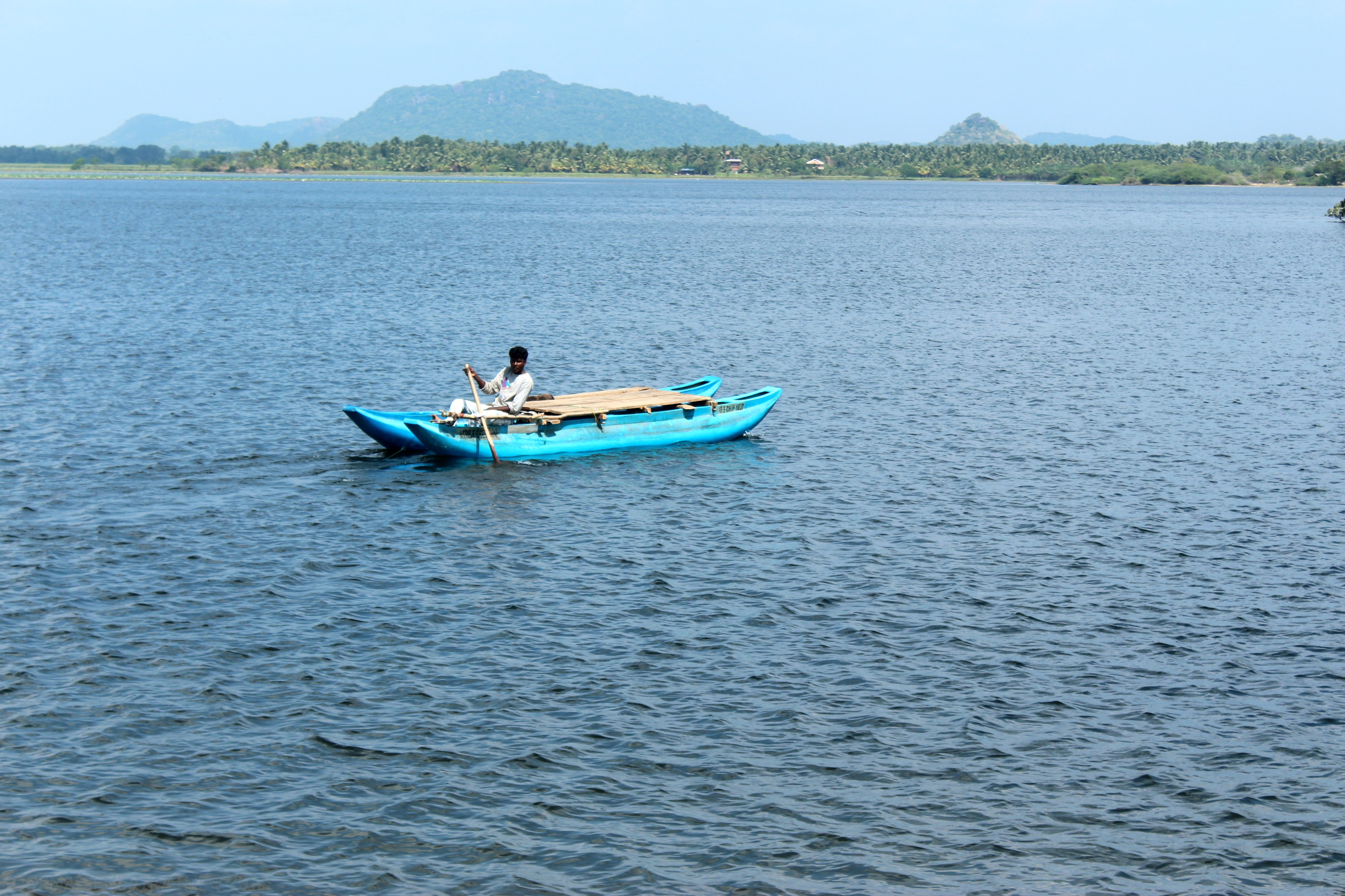 Boat on the Tissa Lake