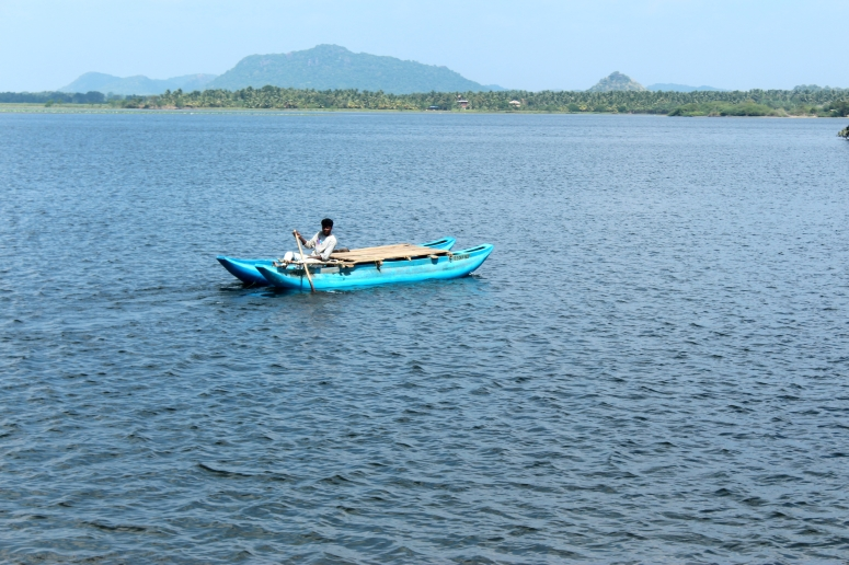 Boat on the Tissa Lake